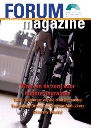 FORUMmagazine zomer 2008, jaargang 3 - archief van www.forum.nl