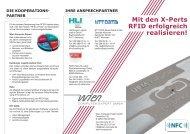 Mit den X-perts RFiD erfolgreich realisieren! - Wien Computer Expert ...