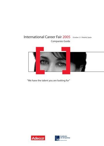 folleto feria empleo.fh11 - Careers - IE
