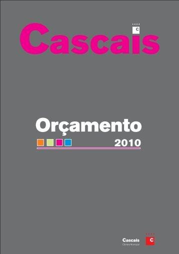 ORÇAMENTO PARA O ANO 2010 - Câmara Municipal de Cascais