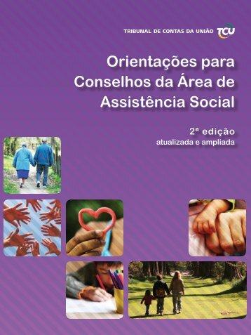 Orientações para Conselhos da Área de Assistência Social - AMAVI