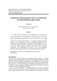 Capacitance Measurements and AC Conductivity of Nickel ...