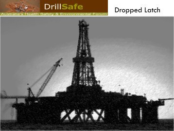 Dropped Latch - DrillSafe