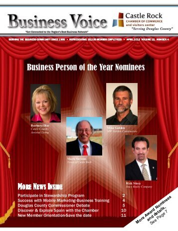 Business Person of the Year Nominees - Castle Rock Chamber of ...