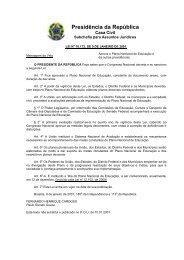 Plano Nacional de Educação 1998 a 2008 - Prefeitura Municipal de ...