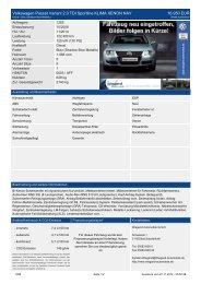 Volkswagen Passat Variant 2.0 TDI Sportline KLIMA XENON NAV ...