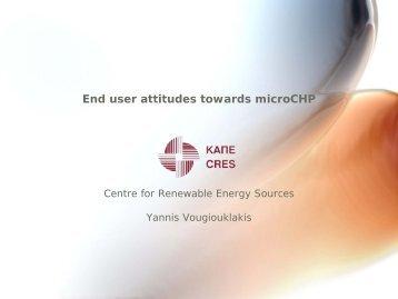 End user attitudes towards microCHP