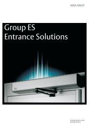 Group ES - Entrance Solutions... - Assa Abloy