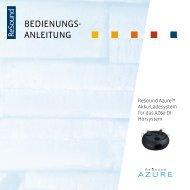 Azure-Ladegerät Bedienungsanleitung - GN ReSound GmbH