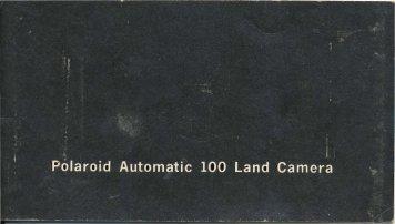 Polaroid 100 - James K Beard
