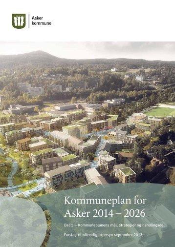 Kommuneplan for Asker 2014 – 2026 - Asker kommune