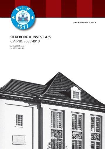 Årsrapport 2012 - Silkeborg IF fodbold