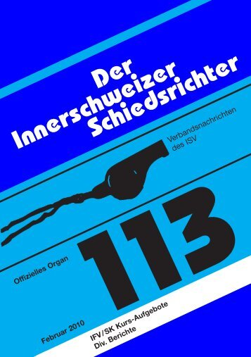 ISR-113 - Innerschweizer Schiedsrichter