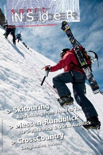 sportINSIDER 1/2013 als PDF (8mb) - Freizeitalpin