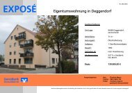 Exposé - GenoBank DonauWald eG