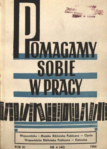 SflRIF - Bibliotekarz Opolski
