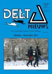 Oktober - November 2011 - Delta Duikteam
