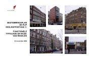 Deelrapportage Functies - Stadsdeel Zuid - Gemeente Amsterdam