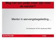 petje meer mentor