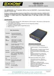 USB-MUX-6C6L - Exxotest