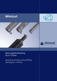 19//64 Long Minicut Carbide Coolant Hole Drill with AlTiN