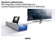 PowerPoint Vorlage Loewe