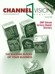 2009 Telecom Services Channel Directory