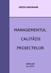 Managementul calitatii proiectelor - PIM Copy