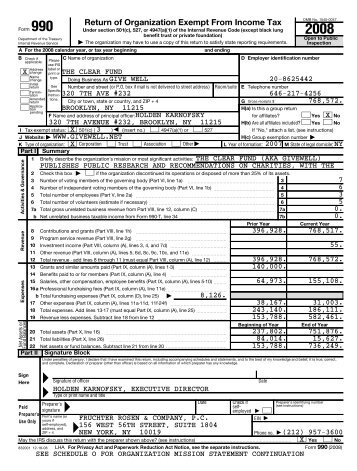 2008 Property Tax Refund Return (Form M1PR) instructions