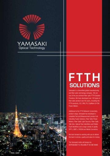 FTTH Solution - yamasakiot.com