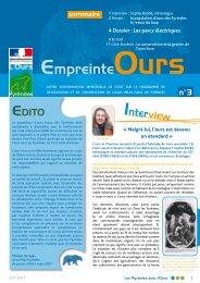Empreinte Ours n°3 - DREAL Midi-Pyrénées