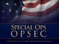 Special Ops OPSEC - Ed Berry