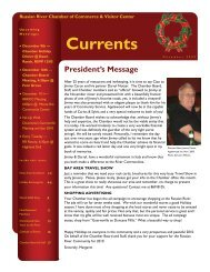 Currents - Russian River Chamber of Commerce
