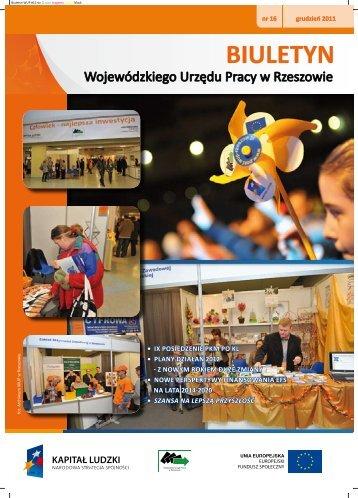 Biuletyn Wojewódzkiego Urzędu Pracy w Rzeszowie nr 16/2011