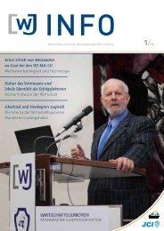 Ernst Ulrich von Weizsäcker zu Gast bei den WJ MA-LU ...