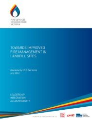 Towards Improved Fire Management in Landfill Sites - The Fire ...