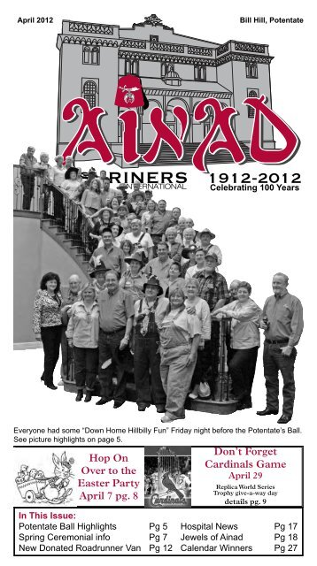 SHRINERS 1912-2012 - Ainad Shriners