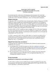 Procédures analytiques - Normes d'information financière et de ...