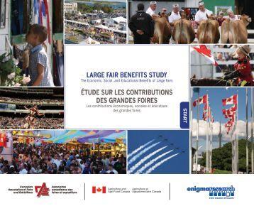 Rapports généraux (grande) - Canadian Association of Fairs and ...