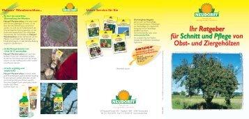 Neudorff Ratgeber zur Baumpflege