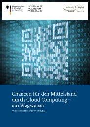 Chancen für den Mittelstand durch Cloud Computing - ein ... - IT-Gipfel