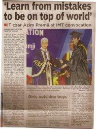 Lokmat Times 10032013 - Nagpur First 1 pp..pdf - Alumni @ IMT-N