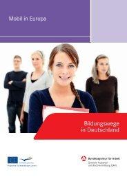 Bildungswege in Deutschland (26 Seiten - Zentrale Auslands- und ...