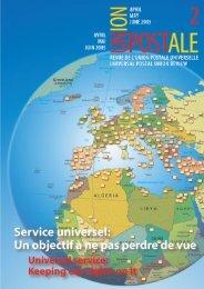 Union Postale, revue de l'Union postale universelle - UPU ...