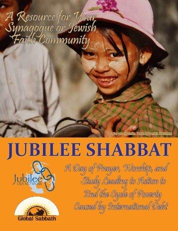 JUBILEE SHABBAT - Jubilee USA
