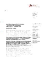 Deutsch-Israelische Zusammenarbeit in der Berufsbildung ...