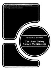 Technical Report: State Salary Survey Methodology - Virginia Joint ...