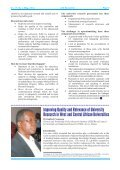 AAU NEWSLETTER English Vol. 17 Issue 1 2011 - AAU Resource ... - Page 4