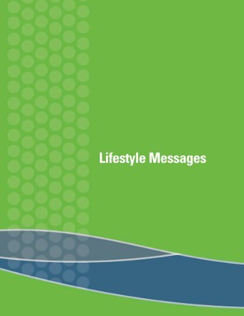 Lifestyle Messages - City of Edmonton