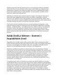 Co je to sociální trojčlennost? Každý člověk je menšinou – svoboda ... - Page 2